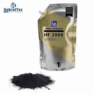 Pó de Toner High Fusion HF2008 HF1908 - HP 35a/85a/36a Alta e Baixa Bag 1 kg