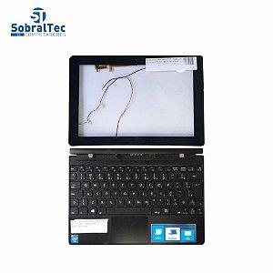 Kit Moldura Da Tela e Teclado Notebook CCE 2 Em 1 F10-30 Intel Atom Z3735G - USD