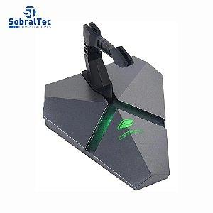 Mouse Bungee Usb Hub 3 Portas Leitor Micro Sd Mb-200si C3Tech