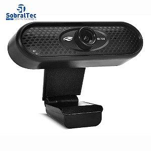 Webcam Hd 720p Usb 2.0 Com Microfone 50 a 60Hz Vídeo Chamadas C3tech WB-71BK