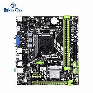 Placa Mãe Chipset H61 LGA 1155 DDR3 SZMZ Para Intel I3 I5 I7 Xeon Series