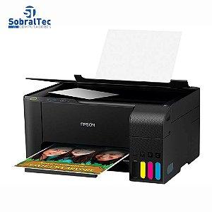 Impressora Multifuncional Tanque Jato De Tinta Epson L3110 EcoTank Bivolt C11CG87302