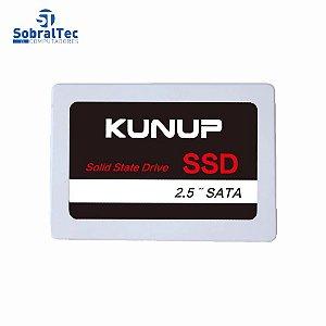 HD SSD Kunup 256GB 2.5 Sata 3 Leitura 550Mbps Gravação 350Mbps K168-256gb