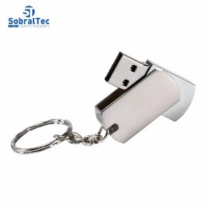 Pen Drive 16Gb Usb 2.0 Design Em Metal Plug And Play Super Duoduo