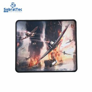 Mousepad Gamer Estampas World War 25x20 Cm Silk-Fliding AJ L-16 Avião Ju 87D