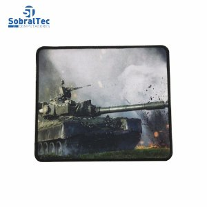 Mousepad Gamer Estampas World War 25x20 Cm Silk-Fliding AJ L-16 Tanque T-54/55
