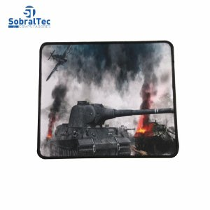 Mousepad Gamer Estampas World War 25x20 Cm Silk-Fliding AJ L-16 Tanque Panther