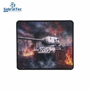 Mousepad Gamer Estampas World War 25x20 Cm Silk-Fliding AJ L-16 Tanque T-34