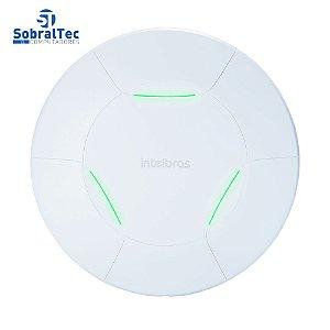 Roteador Access Point Até 100 Usuários Wi-Fi De Teto Gerenciável Intelbras AP 360