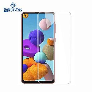Película De Vidro Temperado Para Celular Samsung Galaxy A21 A21s