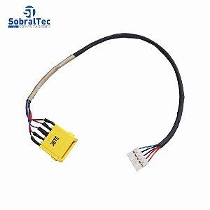 Conector Dc Jack Lenovo IdeaPad 25Cm U330P U430 U430P U530-5938 U530-5939 Com Cabo