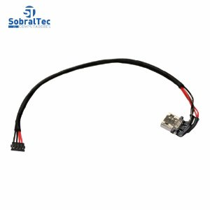 Conector Jack Dc Asus Chromebook 13Cm C100PA C100PA-DB01 2DW3152-000111F Com Cabo