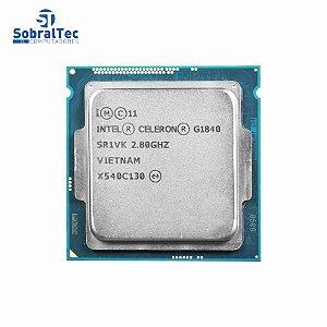 Processador Intel Celeron G1840 Dual Core 2.8Ghz Lga 1150 53W 2Mb Cache