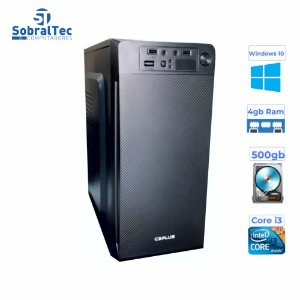 Computador Core i3- 3240-HD 500GB - Memória Ram 4GB- Gag. Micro- ATX MT-11BK C3Plus