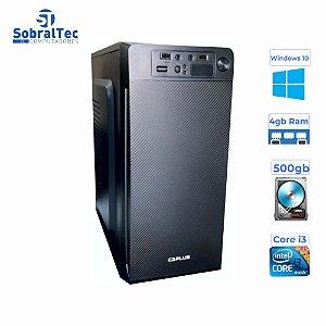 Computador Pentium Dual Core 2,9Ghz -HD 500GB - Memória Ram 4GB- Gag. Micro- ATX MT-11BK C3Plus