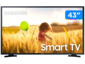 "Smart TV Full HD LED 43"" Samsung 43T5300A - Wi-Fi HDR 2 HDMI 1 USB"