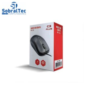 Mouse USB MS-35BK PRETO C3PLUS