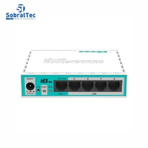 MikroTik RB750r2 RouterBOARD Hex Lite 5 Ports Router PoE OSL4 USADO