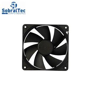 Cooler Para Gabinete ATX 80x80 (Placa) Com Adaptador Fonte