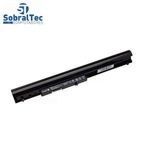Bateria Notebook Compativel Com Hp Cq15 Cq14 Oa04  -Pn : Hstnn-Lb5S G2H 240 - 4 Celulas - Preto - 14.4V -