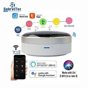 Controle Remoto Inteligente Wi-Fi Infravermelho Home Control Hub Tuya CS-IRC-1