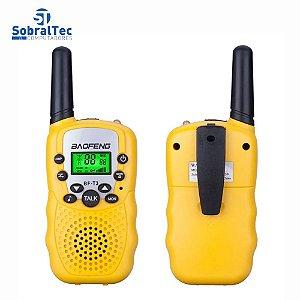 Mini Walkie Talkie Portátil Baofeng, Rádio Bf-t3 W, Dois Canais, Interfone, 2 0.5