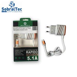 Carregador Rapido Para Smartphone Motorola V8 5.1 A F-886