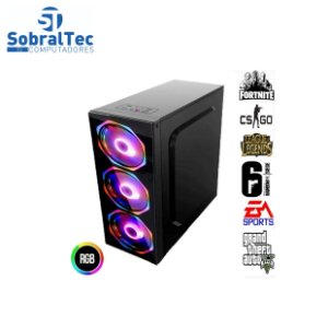 Computador Gamer Core i5-7400 3.70 GHz -HD SSD 1TB- Memória 8GB DDR4- Placa Vídeo GTX 970 4 GB 256Bits