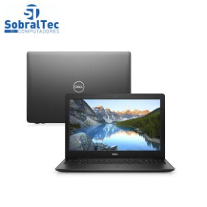 "Notebook Dell Inspiron i15-3583-A3XP 8ª Geração Intel Core i5 8GB 1TB 15.6"" Windows 10 Preto McAfee"
