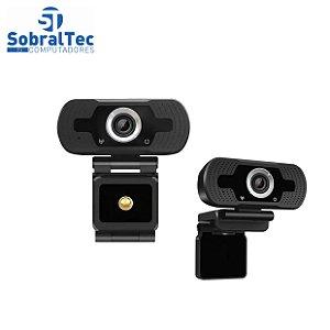 Webcam USB Full Hd 1080p com Microfone CUJMH