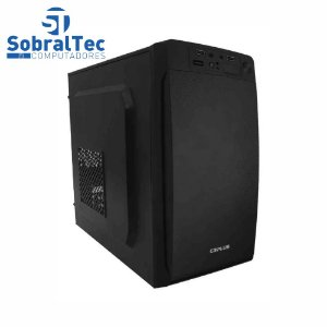 Computador Core i3 3220-H61 Wovibo- HD SSD 256GB T650- Memória 4GB- Gabi MT-11BK
