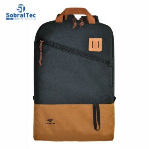"Mochila Para Notebook 15.6"" Sahara MC-03BK Preta C3T"