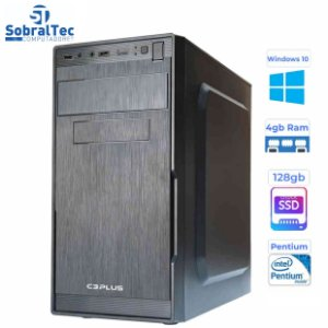 Computador Pentium Dual Core G2030 -3,0Ghz - HD SSD 128GB- Memória DDR3 de 4GB- Windows 10