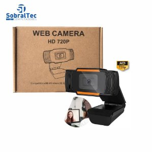 Webcam De Alta Definição 720p USB 2.0 Web Câmera Com Microfone AOSAIDI