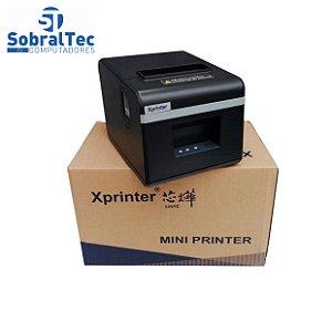 Impressora Térmica Mini Printer 80mm Rj11+Rj45 Xprinter