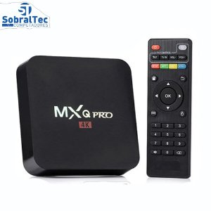 Receptor MXQ PRO 4K 16GB / 2GB RAM - Preto