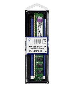 Memória Ram Desktop Ddr3 2 gb Kingston 1333 KvR1333d3n9-2G
