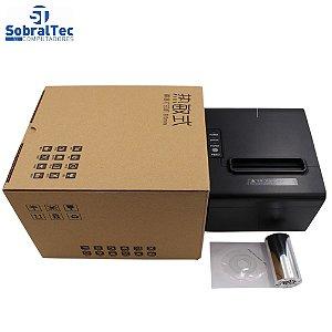 Impressora Térmica USB STec Pos 80mm de Cupom Com Guilhotina