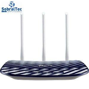 Roteador TP-Link Archer C20- Preset, Dual Band AC750Mbps, 3 Antenas - C20- Exclusivo Para Provedores -@gile4ISP