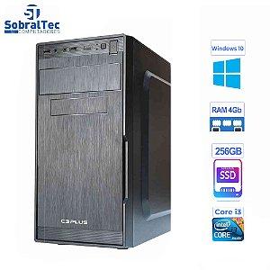 Computador  Core i3 3220 -HD SSD 256GB- Memória DDR3 de 4GB -Teclado e Mouse PV18314