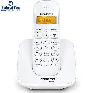 Telefone Sem Fio Intelbras TS 3110 VM Branco