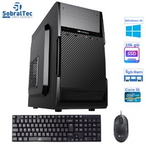 Computador Core i5-3330S-HD SSD 256GB -Memória Ram 8GB -Teclado e Mouse- Windows 10