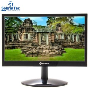 "Monitor LED 15.6"" Widescreen HDMI e VGA e Som Goldentec MG15"