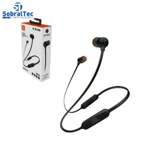 Fone de Ouvido Bluetooth JBL T110 BT Preto