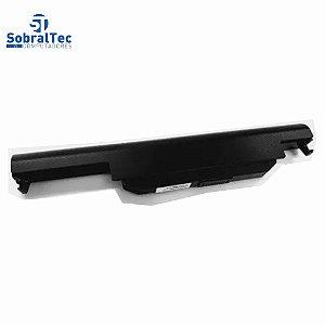 Bateria Notebook Compativel Com Asus K55 A75 K45 A55 A32-K55 A45 A75 A32-K5 -6 Celulas - Preto- 10.8V