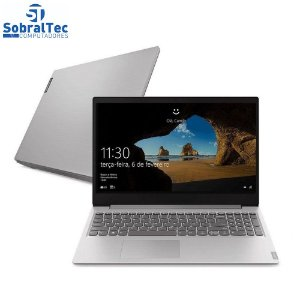"Notebook Lenovo Ultrafino Ideapad S145 Intel® Core i3-1005G1 4GB HD 1TB 15.6"" Windows 10"