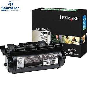 Toner Lexmark Original 64018HL