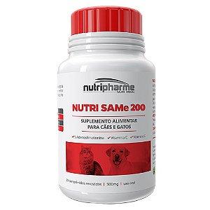 Suplemento Nutri Same 200 Cães e Gatos 30 cps - Nutripharme