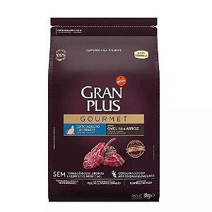 Ração GranPlus Gourmet Gatos Castrados Ovelha e Arroz 3kg