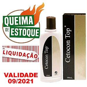 Shampoo Cetocon Top 100ml - Cepav - LIQUIDAÇÃO